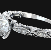 joyería - anillo. Un proyecto de 3D de Tano Lombardo - 19-12-2015