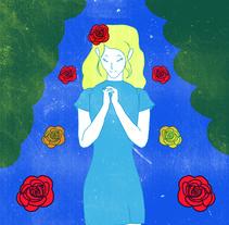Mi Proyecto del curso: Ilustración original dedicada a las madres. Un proyecto de Bellas Artes e Ilustración de luciamonje - Miércoles, 23 de diciembre de 2015 00:00:00 +0100