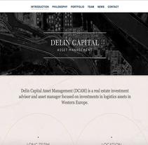 Delin Capital Asset Management. Un proyecto de UI / UX, Marketing, Diseño Web y Desarrollo Web de Antonio M. López López - 27-07-2013