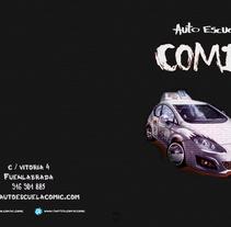 Diseño Carpeta AEcomic. Digital. A Design, Illustration, Automotive Design, Editorial Design, Fine Art, Graphic Design, Information Design, Painting, and Product Design project by BORCH         - 06.01.2016