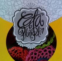 collares, coronas, zarcillos,carteras y muchas cosas mas disponibles en España, Italia y Miami.. Um projeto de Artesanato de cataplunplin todo crochet         - 07.01.2016
