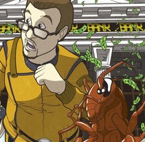 ASALTO AL BANCO un relato de Tony Jim Jr.. Un proyecto de Ilustración y Comic de Pere Morcillo Mercader         - 07.01.2016