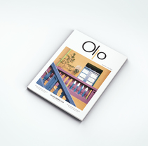 Revista Ollo (Propuesta de diseño y maquetación para revista sobre diseño, fotografía, etc.). A Design, and Editorial Design project by Samantha Pérez         - 09.01.2016