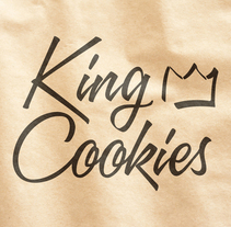 King Cookies. A Br, ing, Identit, Art Direction, Design, and Photograph project by Diego   de los Reyes - Jan 11 2016 12:00 AM