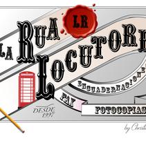 Logotipo Locutorio La Rua. A Graphic Design project by Christian Fernandez Campos         - 24.10.2015