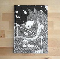 En Ruinas, novela ilustrada.. Um projeto de Ilustração, Design editorial e Escrita de Marta Maldonado         - 28.08.2017
