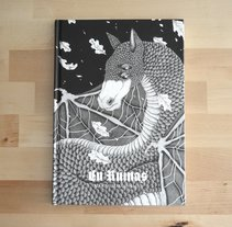 En Ruinas, novela ilustrada.. A Illustration, Editorial Design, and Writing project by Marta Maldonado         - 28.08.2017