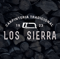 Carpinteria Tradicional Los Sierra. A Br, ing, Identit, Creative Consulting, Art Direction, Design, Graphic Design, and Marketing project by David Mosky - 01.15.2016