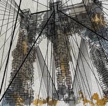 Brooklyn Lines. Um projeto de Motion Graphics e Animação de Laura Reyero         - 14.01.2016
