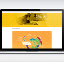 Website escuela de yoga: Yogui Ji. A Graphic Design, and Web Design project by Carlos Quesada Vílchez         - 15.01.2016