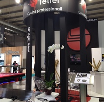 Stand Telfer - Host - MIlan. A Interior Architecture project by Fco. Javier Guerrero Tejero         - 15.01.2016