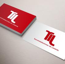 Logotipo TecnoInstalaciones de Levante. Um projeto de Design gráfico de José Luis Cid         - 07.01.2016