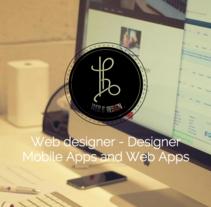 Web design - responsive - recmaresth.com. Um projeto de Web design e Desenvolvimento Web de Esther Martínez Recuero         - 19.01.2016