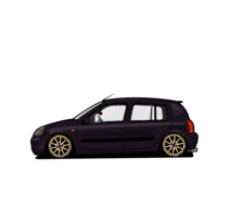 Ilustracion // Renault Clio 2007. A Illustration, and Automotive Design project by WheelStudio  - 11-01-2016