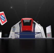 Stand Metro de Madrid. Un proyecto de Arquitectura y Arquitectura interior de Nicolas Poitou - 23-01-2016