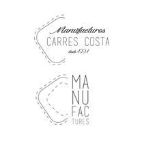 logo CARRÉS-COSTA (empresa textil). A Graphic Design project by Marina Burgaya         - 23.01.2016