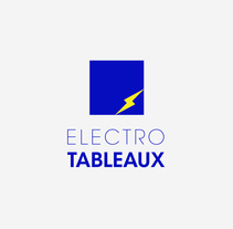 ELECTROTABLEAUX. A Br, ing, Identit, Graphic Design, and Packaging project by Marjorie  - Oct 20 2015 12:00 AM