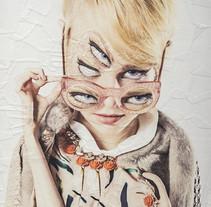 PIECES para Eye Republic Magazine. Un proyecto de Ilustración, Fotografía, Diseño editorial, Moda, Bellas Artes y Collage de Lola Dupre         - 27.01.2016