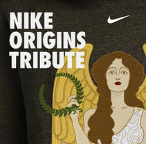 Nike Origins Tribute. A Illustration, Accessor, Design, Art Direction, Cop, and writing project by Enrique Antequera - 28-01-2016