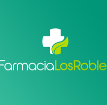 Diseño de logotipo para una farmacia ubicada en Lanzarote. El logo definitivo integra la imagen de una hoja dentro de la silueta de una cruz.. A Br, ing, Identit, Graphic Design, and Naming project by Alejandro Prieto Jaime         - 25.01.2016