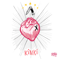 Corazón Kinki / Kinki Heart. A Fine Art, Illustration, and Painting project by Fernando Fernández Torres - Feb 12 2016 12:00 AM