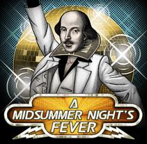 A Midsummer Night's Fever. Um projeto de Ilustração, Design gráfico e Colagem de Pepetto         - 20.02.2016