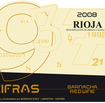 Etiquetas vino Bodegas Exeo, Rioja. A Graphic Design project by Elena  Ojeda Esteve - 08-03-2010