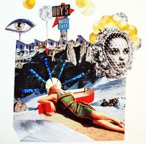 Roy´s Motel Cafe. A Collage project by Paula Brasaanï         - 26.02.2016