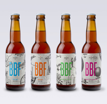Barcelona Beer Festival 2015. A Art Direction, Graphic Design, and Packaging project by Jordi Matosas - 01.01.2016