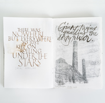 Sketchbooks #1. A T, pograph, and Calligraph project by Joan Quirós - 01-03-2016