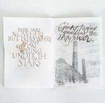 Sketchbooks #1. Un proyecto de Caligrafía y Tipografía de Joan Quirós - Miércoles, 02 de marzo de 2016 00:00:00 +0100
