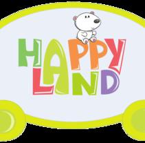 Happyland. Un proyecto de Diseño gráfico de Miriam Ruiz         - 01.11.2012