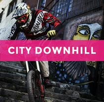 Citydownhill.com. Um projeto de Web design de Felix Mijares         - 12.03.2016