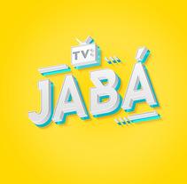 """Brand """"Tv Jabá"""". Um projeto de 3D, Br, ing e Identidade e Vídeo de Lív Argolo         - 12.03.2016"""