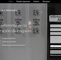 Landing page TOYA: cortinas y decoración. A Advertising, and Web Development project by Publicis Proximedia         - 13.03.2016