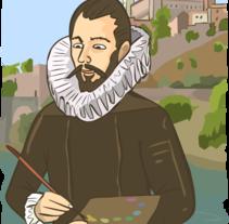 Trabajos editoriales: Ilustraciones para Lengua y literatura 3º y 4º de la ESO. . Un proyecto de Ilustración de Guillermo Esteban Ferreiro - 14-03-2016