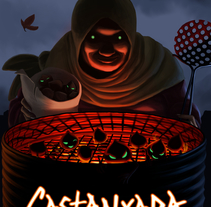 Castanyada. A Illustration project by mustikka         - 15.10.2015