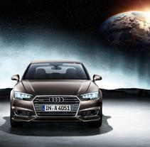 Audi A4 · Campaña Internacional de Lanzamiento. A Advertising, Art Direction, and Graphic Design project by Núria Garcia Traveria         - 31.10.2015