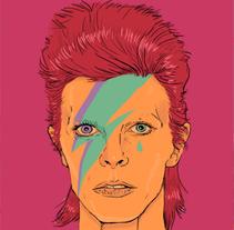 Bye David Bowie. A Design&Illustration project by Miss Aoki  - Mar 20 2016 12:00 AM