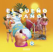 """Franco """"El sueño español"""" artwork. Un proyecto de Diseño, Dirección de arte y Collage de Alejandro Prieto - 21-03-2016"""