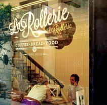 La Rollerie. Un proyecto de Dirección de arte, Br, ing e Identidad, Diseño gráfico, Diseño de interiores y Packaging de John O'Hare         - 30.03.2016