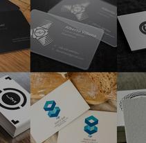Business card. Um projeto de Design e Design gráfico de Daniel Salazar Anderson         - 04.04.2016
