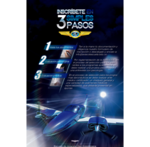 Flyer de presentación de escuela de aviación Aviacol (cara posterior). A Design, Illustration, 3D, and Graphic Design project by Fredy Rosero         - 07.04.2016