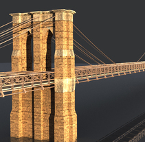 Brooklyn Bridge. A 3D, Video, and VFX project by Javier Silva Contreras - 10-04-2016