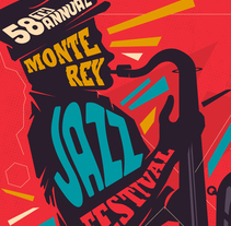 Monterey Jazz Festival 2015. A Illustration, Events, T, and pograph project by Juan Felipe Amaya Guarin - 12-04-2016