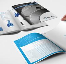 Fondon product catalogue. Um projeto de Design editorial de Jose Ribelles         - 13.04.2016