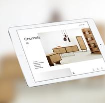 Channels Furniture design. Um projeto de Design interativo e Web design de Manuela Schmidt Silva         - 31.03.2016