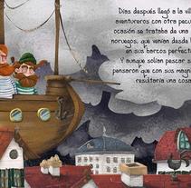 Album ilustrado Villa Gris. Un proyecto de Ilustración de Paul Caballero Barturen - 17-04-2016