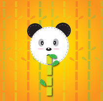 Eating bamboo. A Illustration project by Lilia Piloña-Lainez         - 18.04.2016