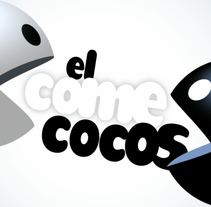 El Comecocos - Cabecera TV. A Animation, and TV project by Fausto Galindo         - 18.04.2016